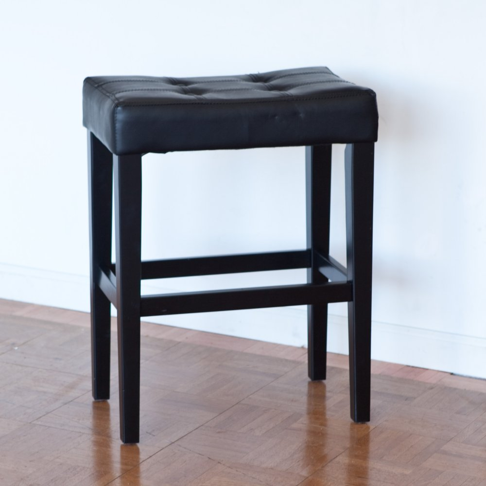 Nice Amazon.com: Palazzo 26 Inch Saddle Counter Stool   Black: Kitchen U0026 Dining