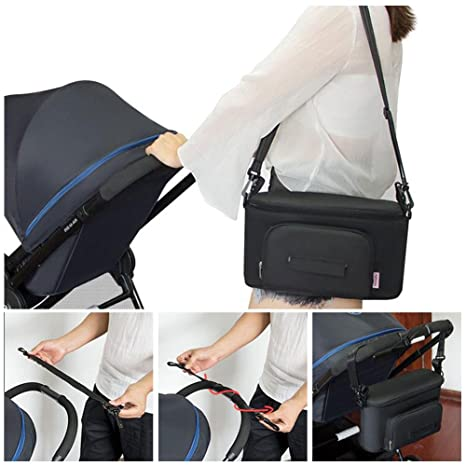Amazon.com : Stroller Organizer, Yuccer Parent Console for Stroller ...