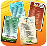 Water & Energy Conservation Tip Magnet Set | 4 Top Saving Magnet Ideas for the Home, Educational