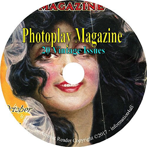 Download Photoplay Magazine - American Film Magazine - 20 Issues on DVD pdf