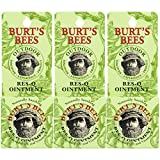 Burt's Bees 100% Natural Res-Q Ointment, Multipurpose Balm - 0.6 Ounce Tin (Pack of 3) (Packaging May Vary)