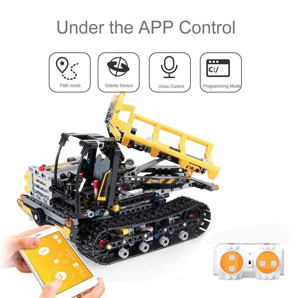Cigooxm 774PCS Remote Control Building Blocks Car RC Track Building Blocks Educational Toys for Kids by Cigooxm (Image #5)