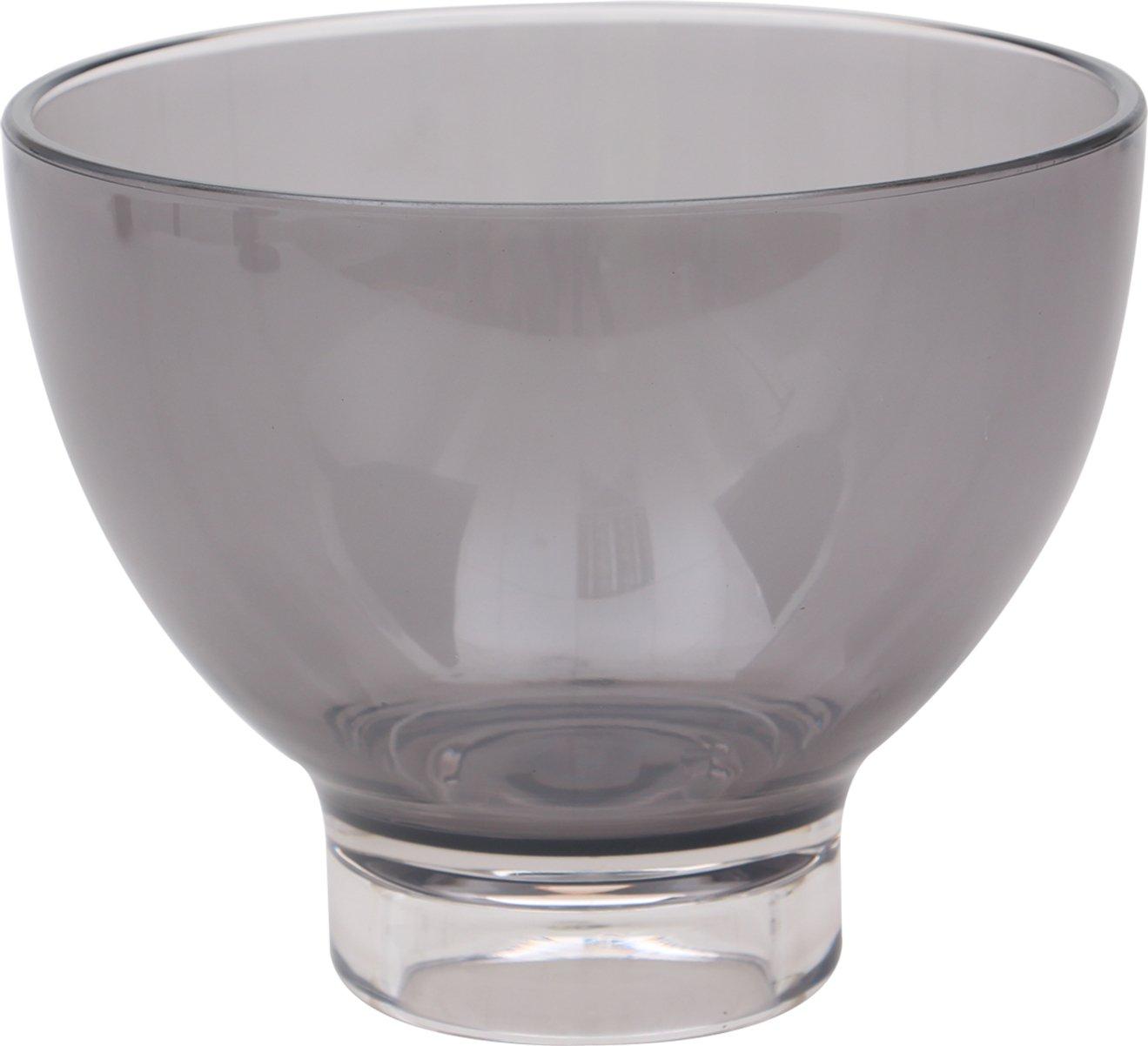Epicure Footed Serving Bowl, 26 oz, Tritan, Smoke by Carlisle (Image #6)