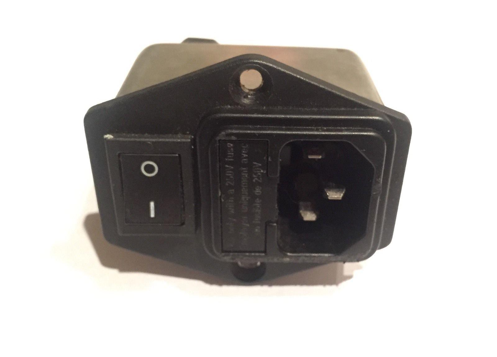 Precor Elliptical Power Entry Module Circuit Breaker EFX 5.25 5.21 5.23 250 vac