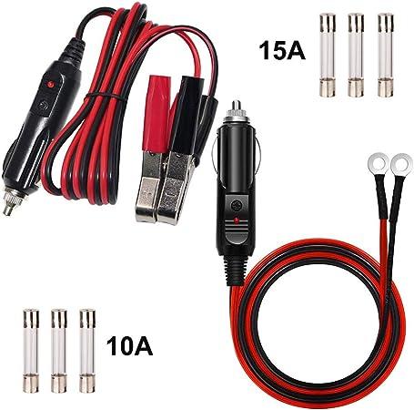 Gtiwung 2 Stück Batterie Wechselrichter Computer Zubehör