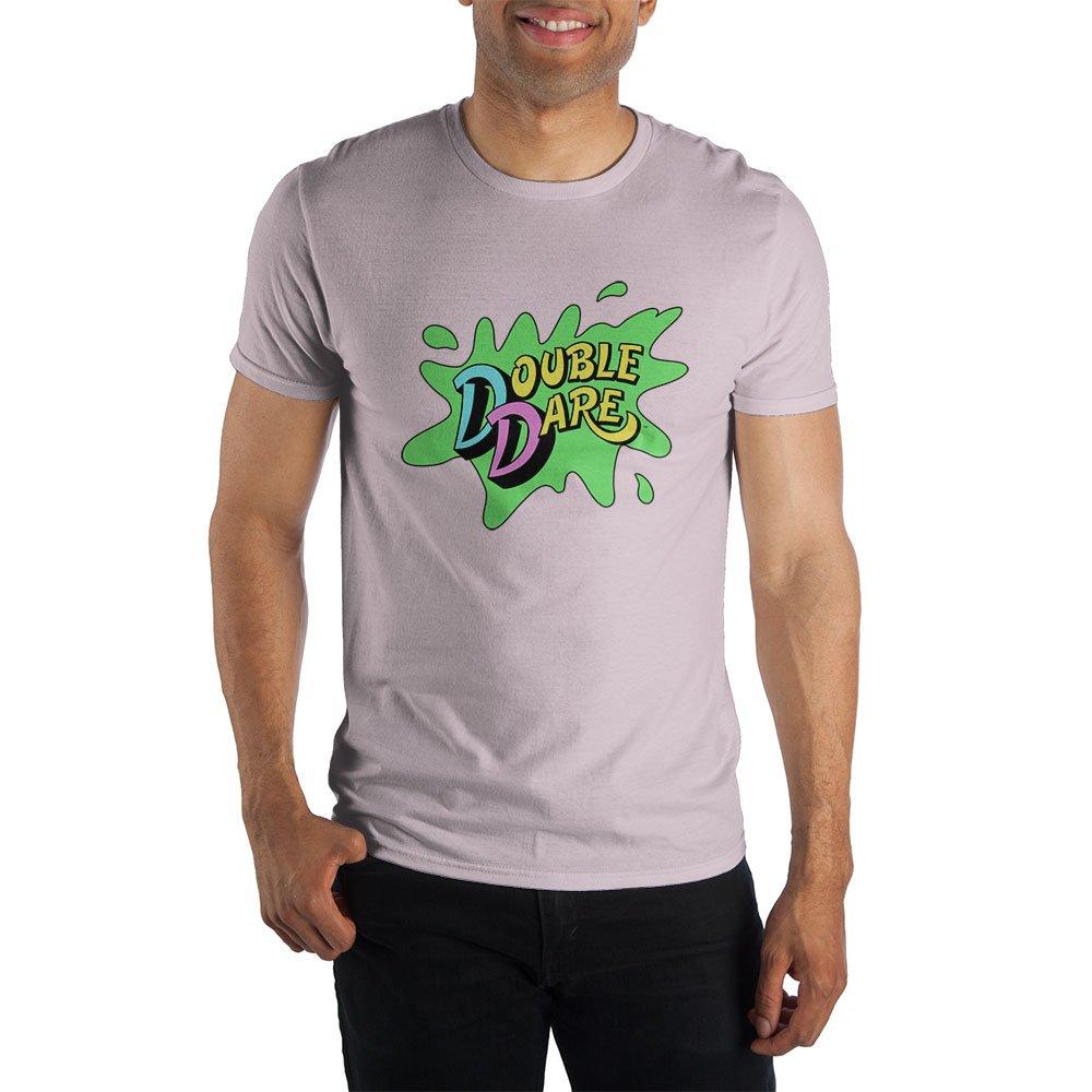 Amazon com: Nickelodeon Game Show Double Dare Men's Orange T