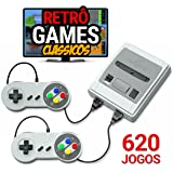 Mini Vídeo Game 620 Jogos Retrô Clássico Premium