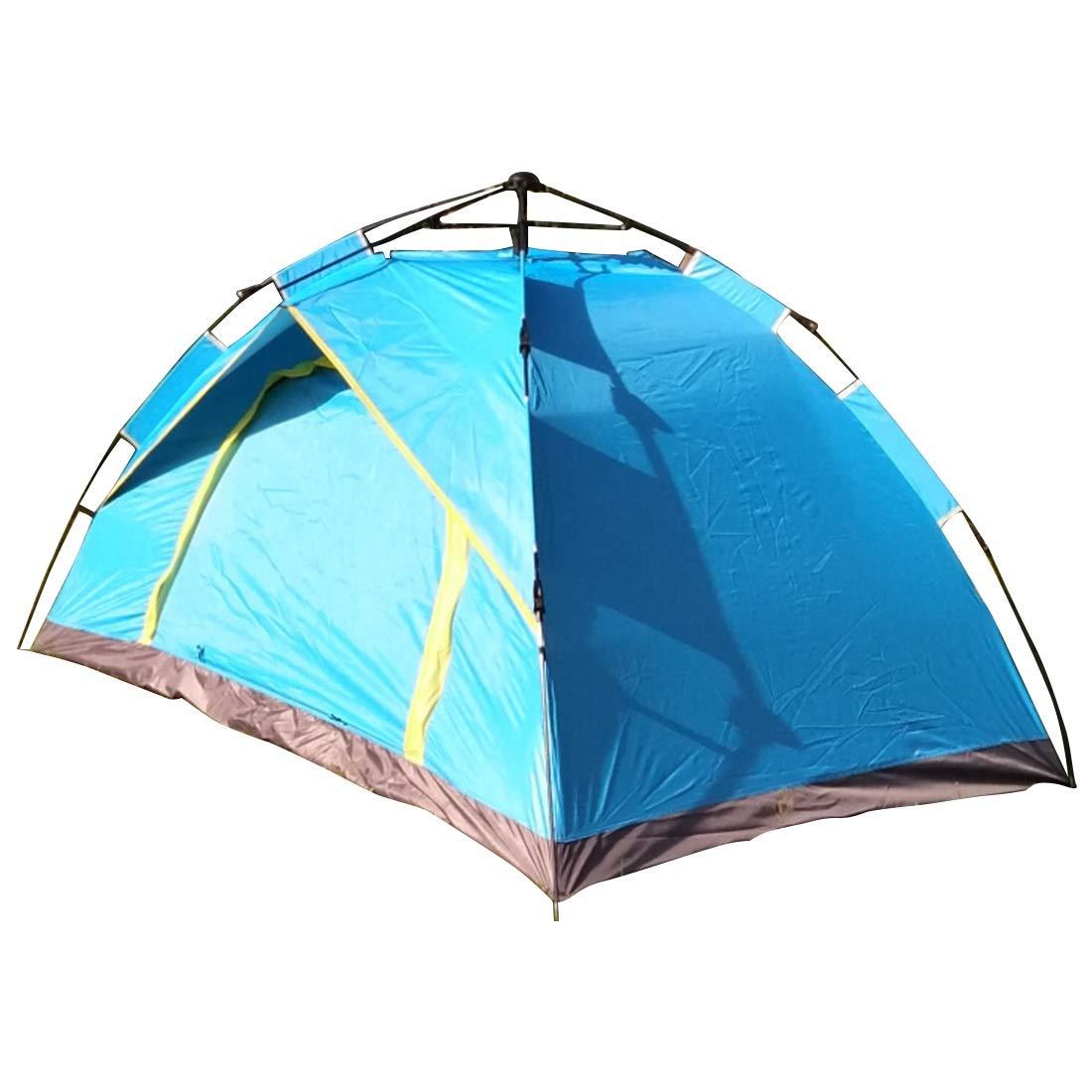 Fepelasi Outdoor Camping für 2 Personen Zelt (blau) (Farbe : Blau)