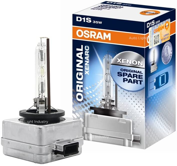 OSRAM XENARC OEM 4300K D1S HID/XENON Headlight bulb (66144) by ALI - Made in Germany (Pack of 1)