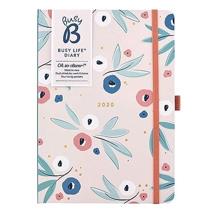 Agenda Busy Life de Busy B - planificador A5 floral con ...