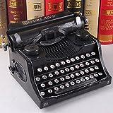 BWLZSP 1 PCS Wrought iron typewriter model shop ornament window display props retro shop ornaments AP5241723