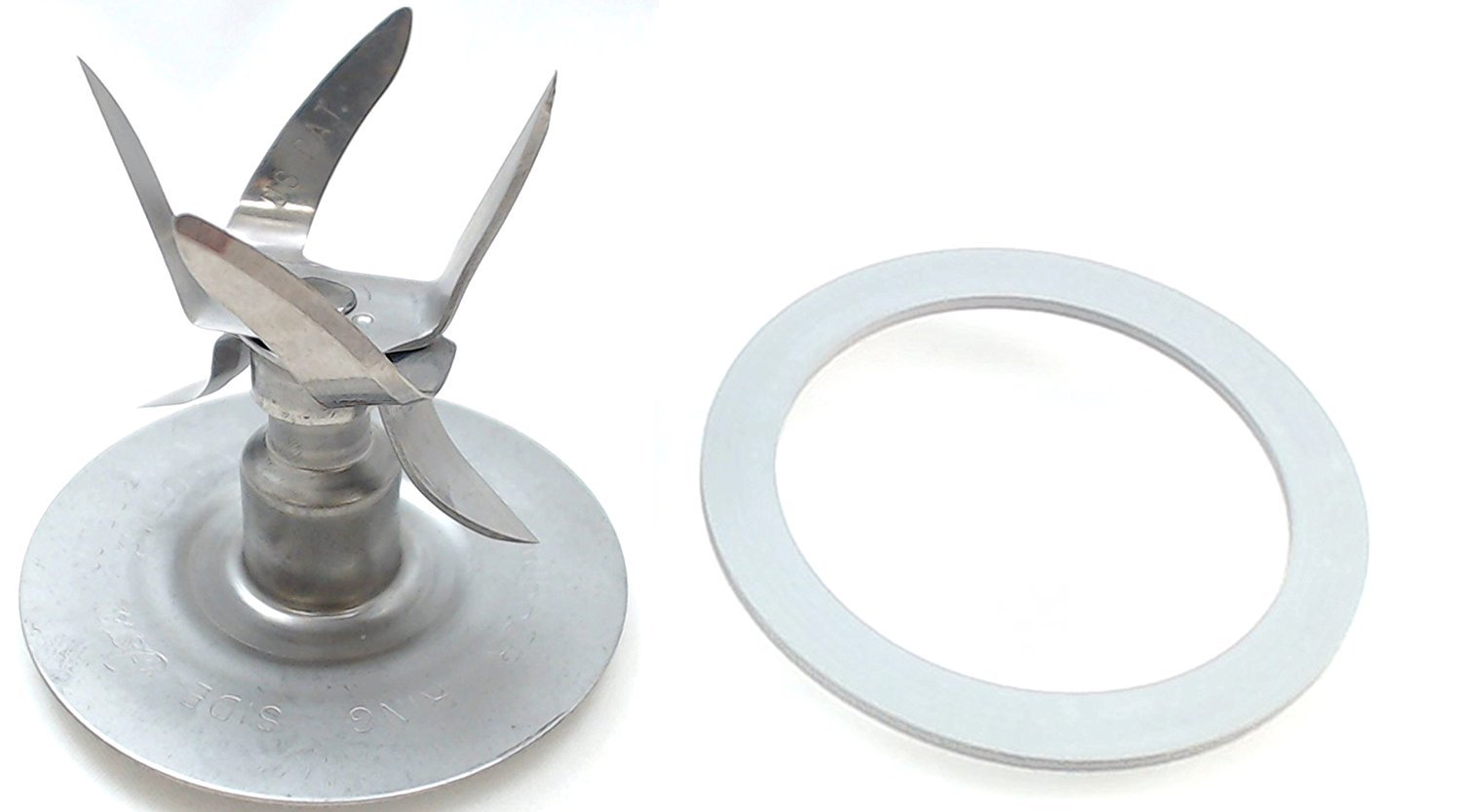 Fusion Blender Blade Cutter with Gasket for Oster 118530-101-000 & 083422-050-000 by Sunbeam (Image #1)