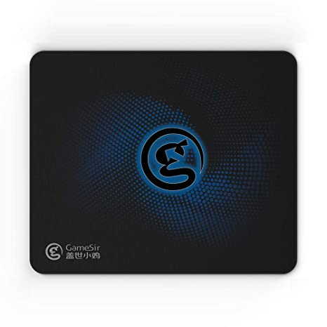 GameSir Gaming Computer Mouse Pad Non-Slip Rubber Base Mouse Mat 11.69/×9.84/×0.12 inches Cloth Surface Mouse Pads for Computer Laptop