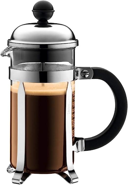 Bodum Chambord - Cafetera de émbolo, 3 tazas, 0,35 l, brillante: Amazon.es: Hogar