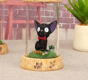 CATHYA Kikis Delivery Service Figuras de Gato, 2 Piezas de Dibujos Animados paisajismo lámpara de