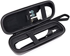 ProCase Toothbrush Travel Case for for Oral-B Pro 1000 1500 3000 5000 7000 Philips Sonicare 5100 6100 AquaSonic, Sonic Electric Power Rechargeable Toothbrush Carrying Case Holder Container