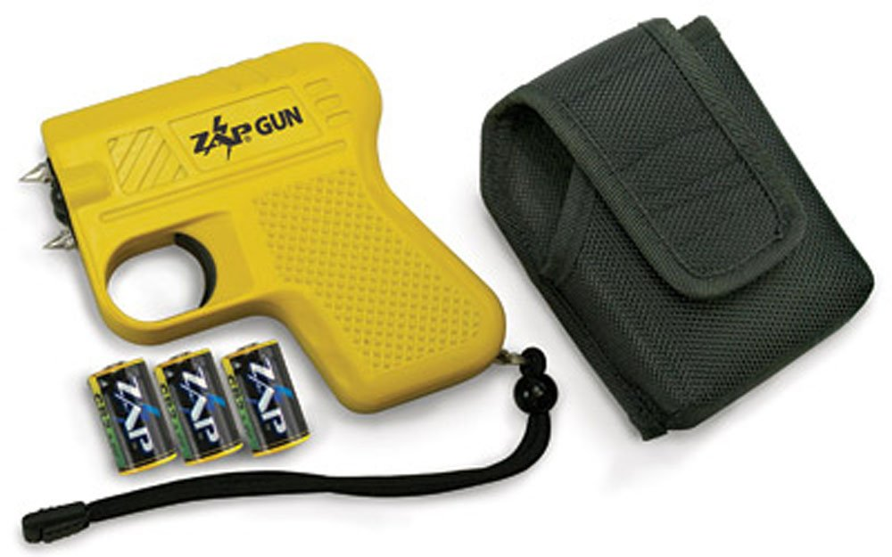 Yellow 950,000 Volts Zap Stun Gun/Flashlight
