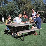 #3: Lifetime Picnic Table and Benches