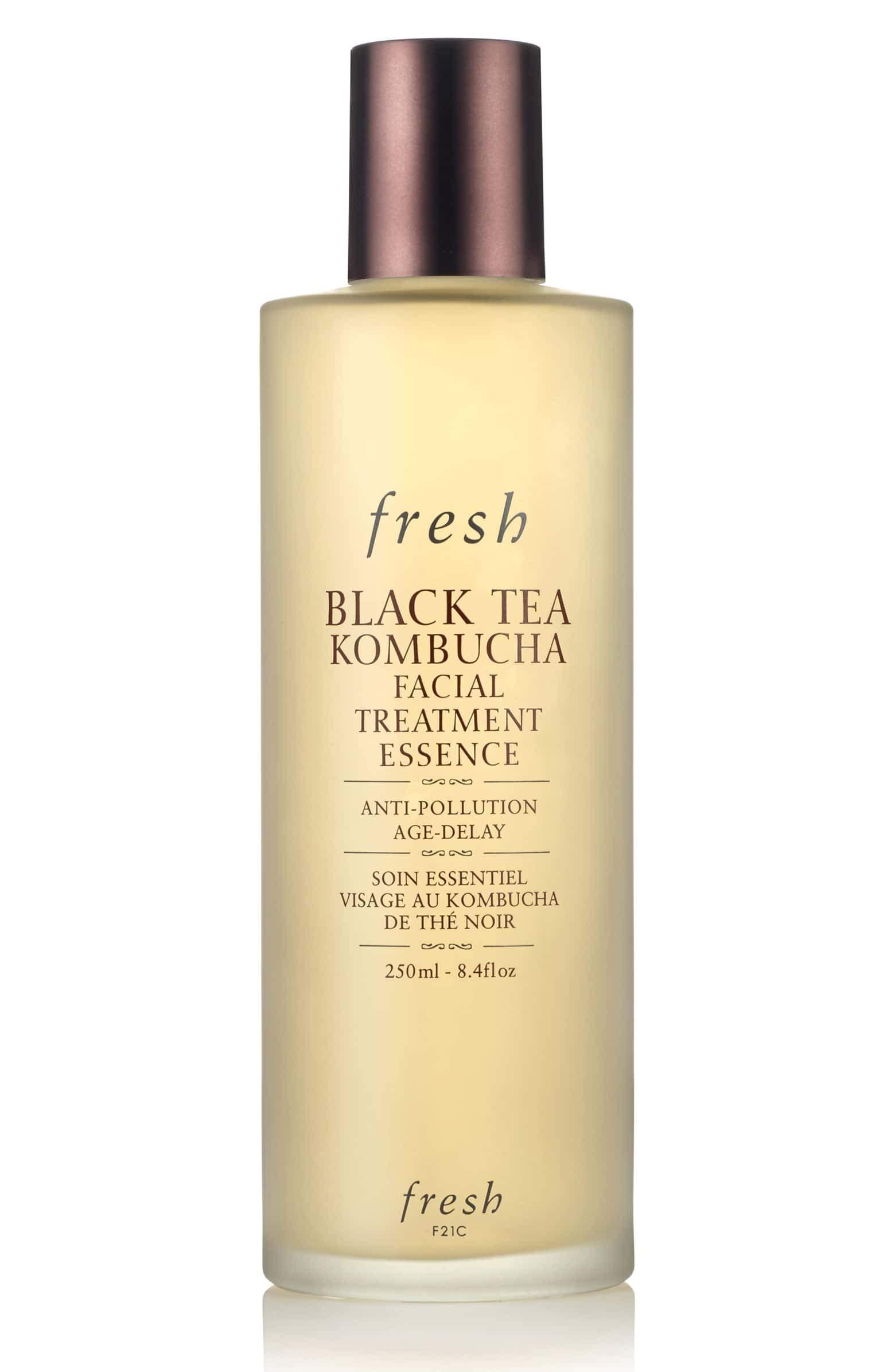 Fresh Black Tea Kombucha Facial Treatment Essence Anti-Pollutioin Age-Delay 8.4oz/250ml
