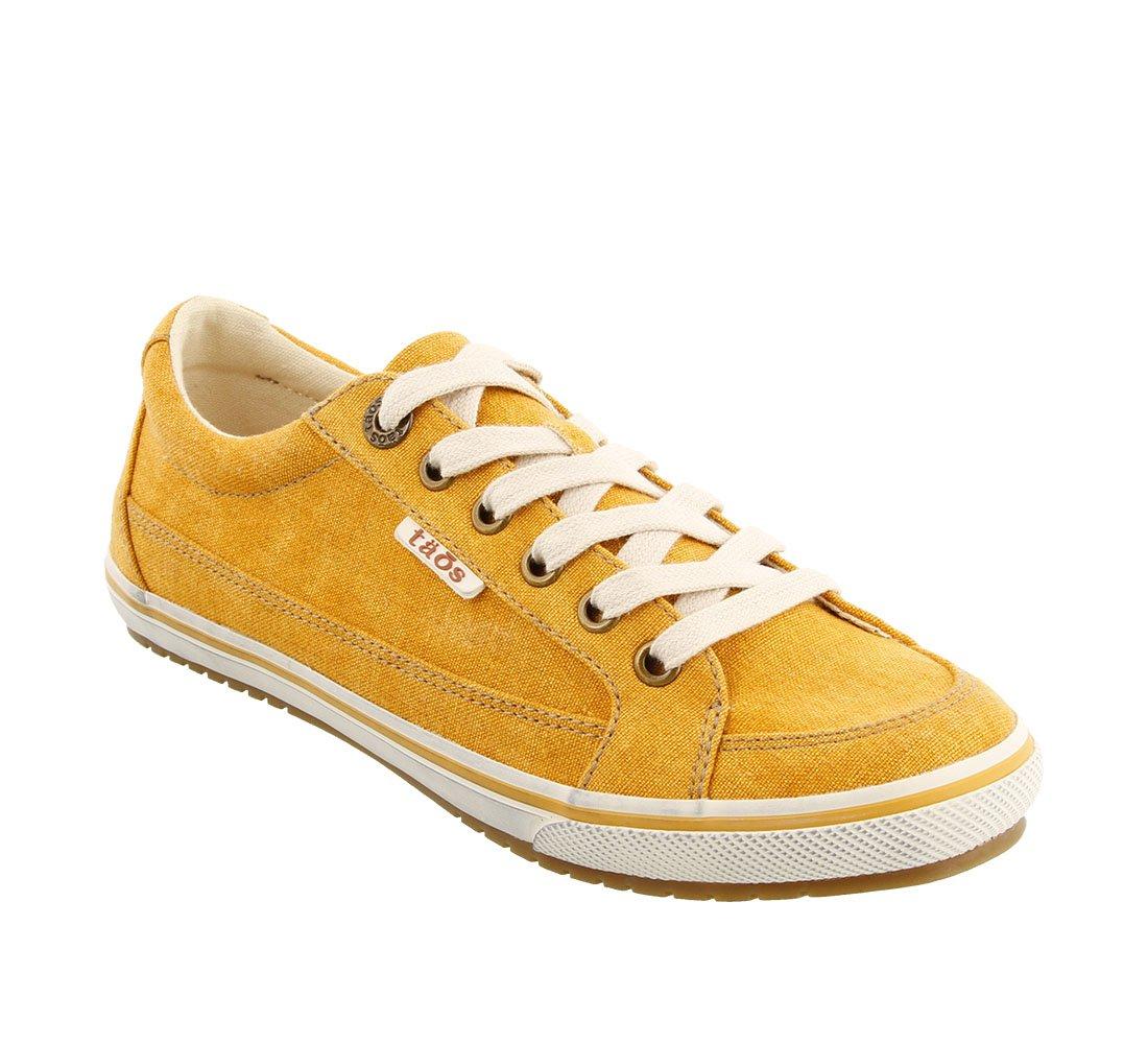 Taos Footwear レディース B074PBKJ9J 6 B(M) US|Yellow Washed Canvas Yellow Washed Canvas 6 B(M) US