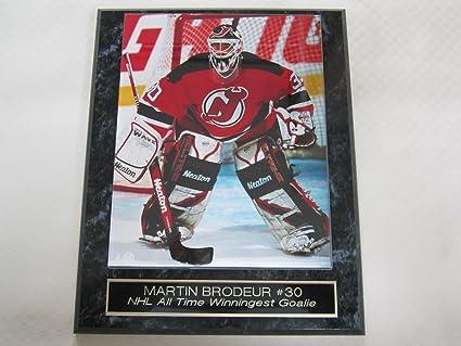 Amazon Com Martin Brodeur New Jersey Devils Collector Plaque W