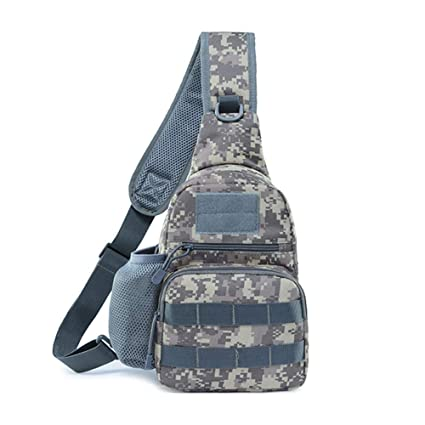03eabe914386 GUJJI FUN Tactical Shoulder Sling Backpack Chest Shoulder Messenger Bag for  Men   Women