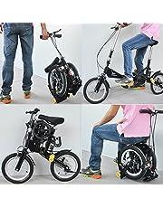 14 Inch nueva moda portátil de velocidad única libre bicicleta plegable Mini plegable bicicleta