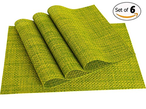 table placemats green - 7