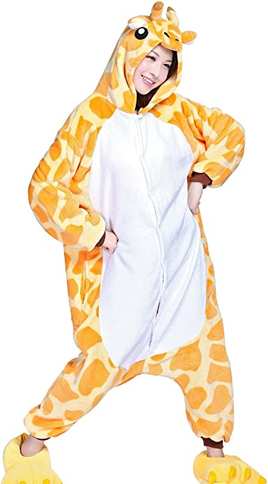 Aivtalk - Franela Onesies Pijamas Adulto Unisex Pijama de Animal ...
