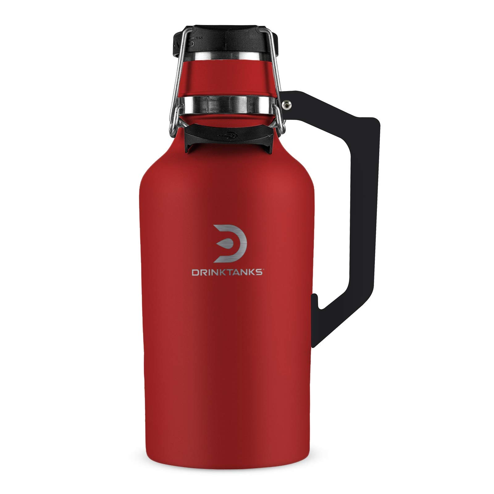DrinkTanks 64 oz Vacuum Insulated Stainless Steel Beer Growler