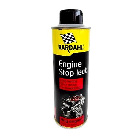 Bardahl - Aditivo para aceite coche, evita fugas de motor, de 300 ml