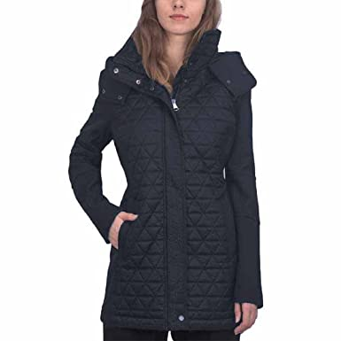 8e2b11c3efb Marc New York by Andrew Marc Women s Quilted Hooded Jacket (Medium ...