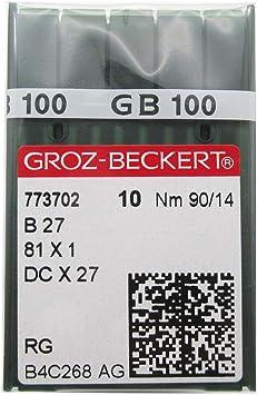100 ORGAN  B-27 SIZE#12//80 OVERLOCK SERGER BALLPOINT NEEDLES DCX27