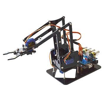 Amazon com: gazechimp 4Axis Robot Arm Mechanical Robot Arm
