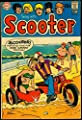 Swing with Scooter #21 1969- Motorcycle Sidecar cover- DC Comics VG