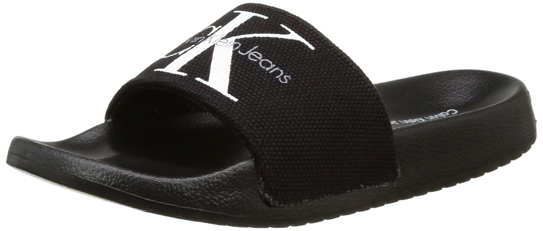 4a2d61180 Calvin Klein Women s Chantal Heavy Canvas Beach   Pool Shoes  Amazon.co.uk   Shoes   Bags