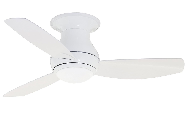 Emerson, CF144LWW Curva Sky 44-inch Indoor/Outdoor Ceiling Fan, 3 ...