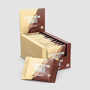 MyProtein Cookie Galletas de Proteínas, Sabor Cookies y Cream - 12 Unidades: Amazon.es: Salud y cuidado personal