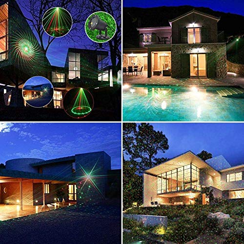 HAOMEI LED Landscape Projector Villa Decorated Spotlights, Garden Lights, Christmas Lights]()