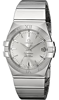 407c02ecafa5c Omega Constellation Co-Axial Stainless Steel Automatic Mens Watch Silver  Dial Date 123.10.35.20