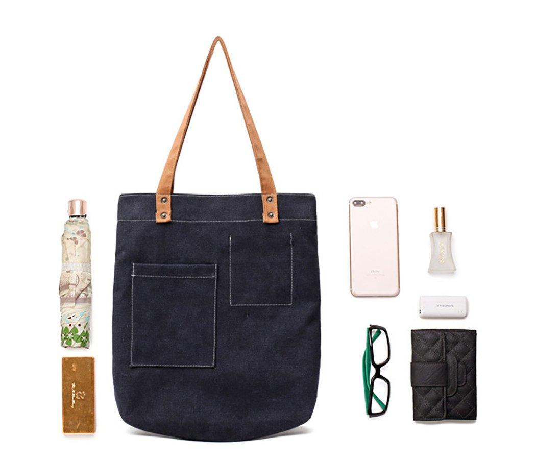 Bageek Canvas Tote Bag Handbags for Womens Bag Canvas Purses and Handbags by Bageek (Image #7)