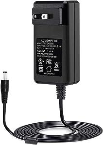 [UL Listed] Maxson 24V 2A Power Supply Charger (Input AC 100V-240V, Output DC 24 Volt 2 Amp 48 Watt) Adapter Switching Transformer Converter DC 5.5mm x 2.1mm / 5.5mm x 2.5mm Universal