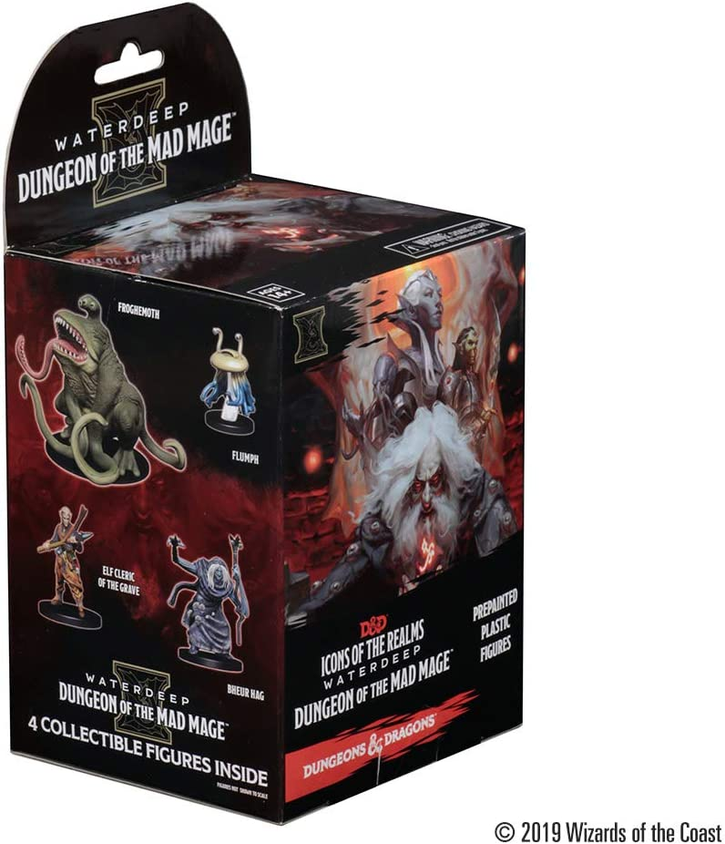 D&D Dungeons&Dragons Icons of The Realms Set 11: Waterdeep Dungeon of The Mad Mage Booster Pack: Amazon.es: Juguetes y juegos