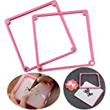 Cookie Decorating Stencil Frame/Stencil Genie Magnetic Stencil Frame-Two Different thicknesses Stencil Holder