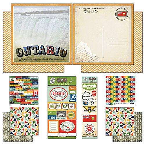 - Scrapbook Customs Ontario Vintage Scrapbook Kit