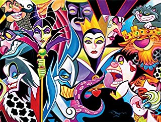 product image for Ceaco Disney Villains Jigsaw Puzzle, 1500 Pieces