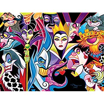 Amazon Com Ceaco Disney S Villains Puzzle 1500 Pieces