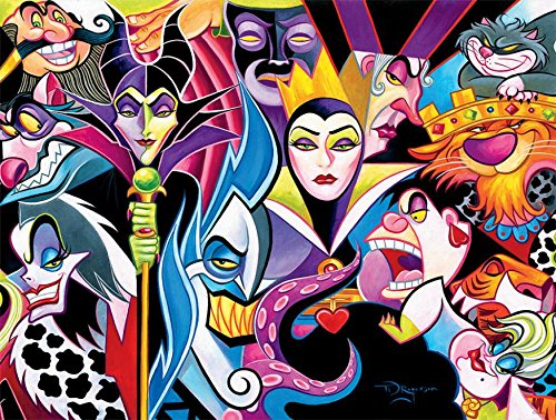 CEACO DISNEY 1500 JIGSAW PUZZLE VILLAINS 1500 PCS #3402-2