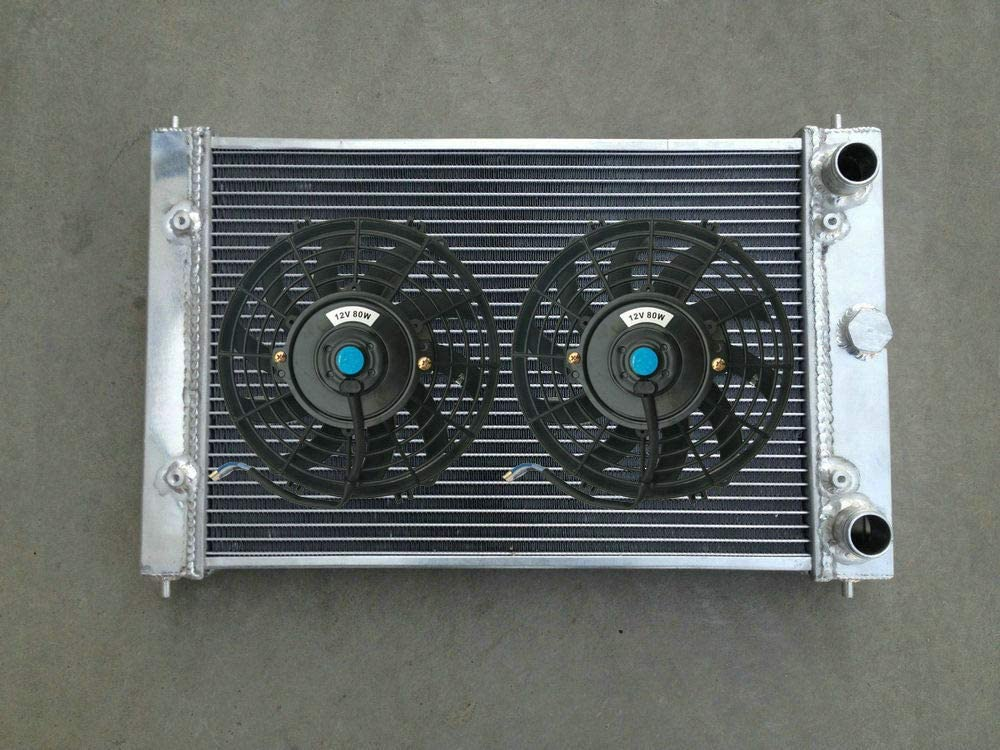 1994 Handbuch 80 3-reihiger Aluminium-K/ühler L/üfter f/ür Polo 86C G40 1.3 1.0 Coupe Race Track W//O Air 1982