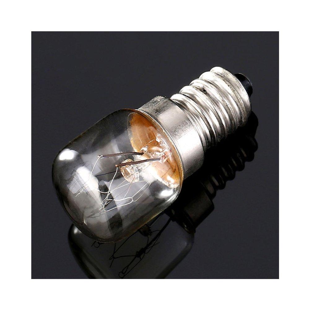 E14 T22 (15 W) alta temperatura de horno 300 grados bombilla Pan ...